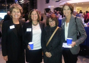 Karen Eckhardt, CSCVVSB VP Development & Communications; Jody Tompkins, CSCVVSB VP of Programs; Cathy Cole, Los Robles Hospital & Medical Center; Suzanne Drace, CSCVVSB President