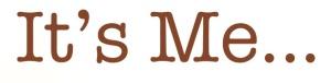 Essay Contest - Its Me Logo