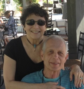 Susanne and her husband Gary celebrating their 50th wedding anniversary in Ojai, four months after Susanne's surgery.