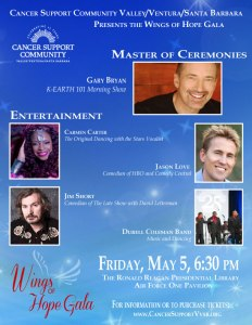 CSC Wings of Hope Gala Event Flyer